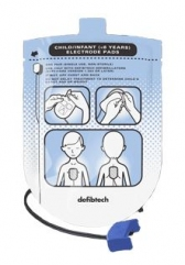 Pediatric Defibrillation Pads Package (DDP-200P) GST Inclus.